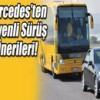 Mercedes Otobüsleri,Mercedes Benz,Güvenli Arabaları,Güvenli Yol Sürüşü,Trafik Uygulaması Yaptı