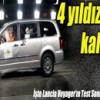Lancia Voyager,EuroNCAP Çarpışma Testinden,4 Yıldız Aldı izle