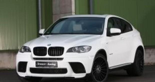 BMW X6 xDrive40d,Senner Tuning Modifiyesi İlave Edildi Yeni Görünüm