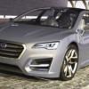Subaru Advanced Tourer Hibrit,Subaru Advanced Tourer Elekrtirikli Motorlu Gelecek Tasarım Arabası