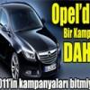 Opel Arabaları,Yıl Sonu,Son Aralık,Kampanyası,Detayları Nelerdir
