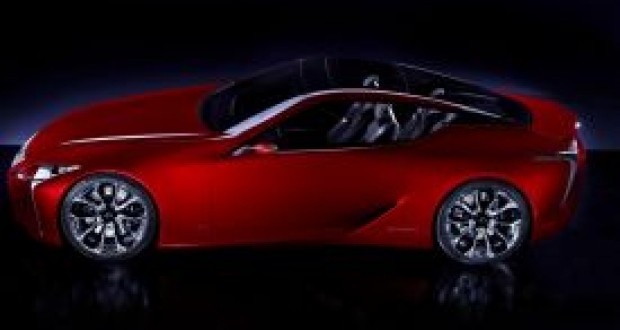 Lexus LF-LC,Lexus LF-LC Model Araba,Yeni Oto Hazırlık Aşamasında
