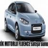 2012 Elektirikli Araba Renault Fluence Z.E,Renault Fluence Z.E Türkiyede 60.000 TL'ye Satışa Çıkıyor