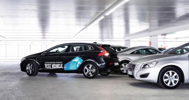 isvec arabalari,volvo,volvo autonomous parking,volvo autonomous parking concept,volvo otonom park,volvo v40