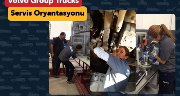 Volvo,Türkiye,Çalışanlarına,Servis,Oryantasyonu