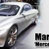 Mercedez Benz F125 Uçan Kanatlı Araba Gri Metal Araç