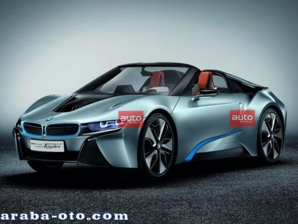 BMW i8 Spyder 2013 Model Araba