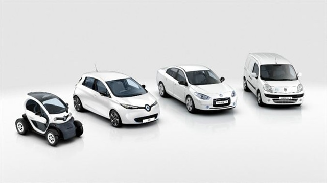 Elektrik motorlu,araç,araba,otomobil,Renault Fluence