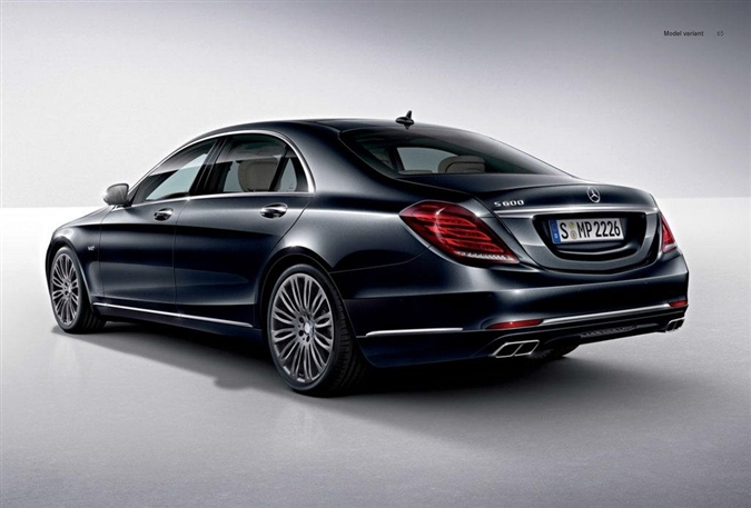 2015,Mercedes,S600,Yeni