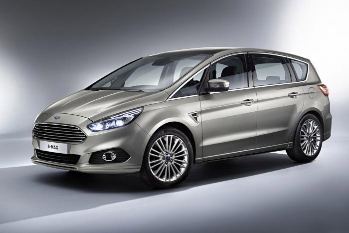 Ford, 2015 S-MAX Modelini Tan�tt�