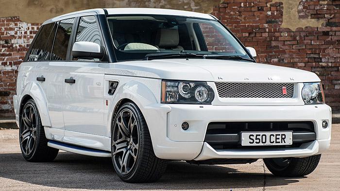 Kahn Design�dan Yeni Range Rover G�vde Kiti